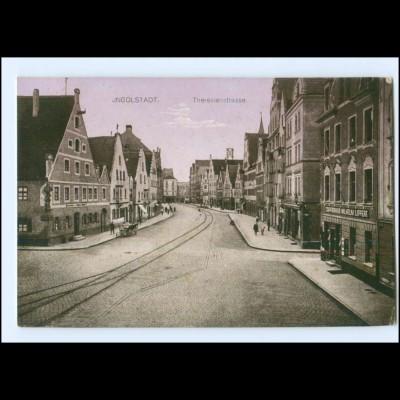 Y13394/ Ingolstadt Theresienstraße AK 1916