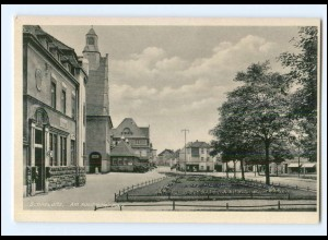 U8118-044/ Schkeuditz Adolf-H-Platz AK ca.1940