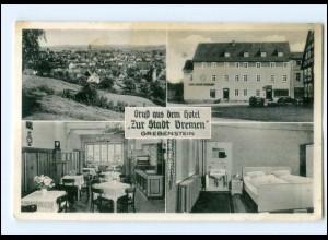 """Y13379/ Grebenstein Hotel """"Zur Stadt Bremen"""" AK 1959"""