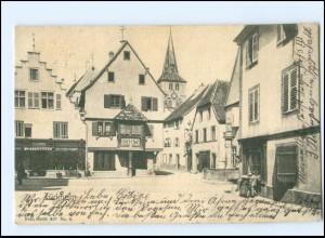 Y13357/ Türkheim Elsaß AK 1907