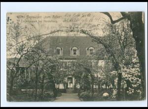 U7995/ Ziegelhausen bei Heidelberg Restaurant zum Adler AK 1910