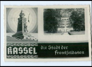 U8007/ Kassel Stadt der Frontsoldaten AK 1939