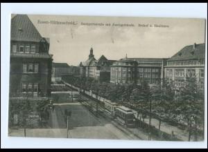 U8013/ Essen Rüttenscheid Zweigerstraße Straßenbahn AK 1928