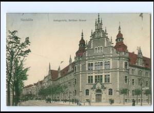 U8015/ Berlin Neukölln Amtsgericht, Berliner Str. AK 1913