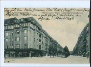 U8023/ Berlin Schöneberg Martin Luther Straße AK 1921