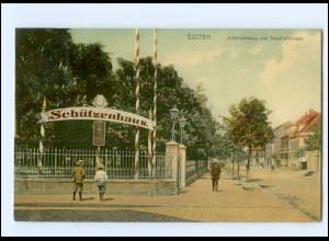 U8028-394/ Güsten Schützenhaus AK 1909