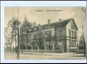 U8075/ Augsburg Wöchnerinnenheim AK ca.1912