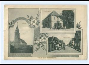 U8076-6721/ Friesbach Schule, Hauptstr. AK 1916