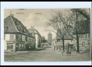 Y13734/ Hagenau Elsaß Landweg AK 1916