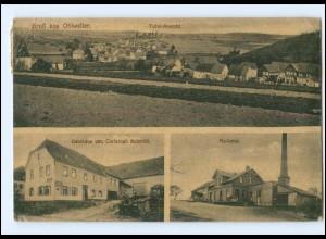 U8096-6541/ Ohlweiler Molkerei, Gasthaus Chr. Schmidt AK 1919