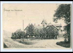 U8097-4230/ Diersfordt Gasthaus bei Wesel AK 1907
