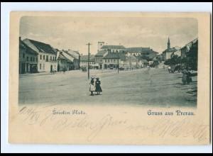 U8098/ Prerau Prerov Zerotin Platz AK 1898 Tschechien