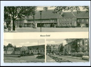 U8043/ Wanne-Eickel Bahnhof AK ca.1955