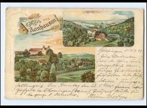 U8061-3451/ Gruß aus Reinhausen Bremke-Tal Litho Ak 1899