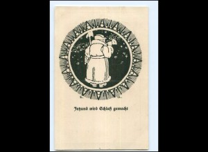 Y14489/ Thüringer Liederblatt-Postkarte Nr. 6 Erich Unger AK 1918