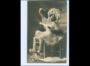 Y13514/ De Dio Gerlach Foto AK 1907 Schauspielerin