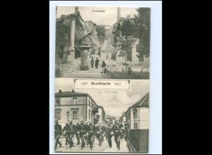 U8130/ Kalisch Kalisz Josefsplatz AK schlesien Polen 1915