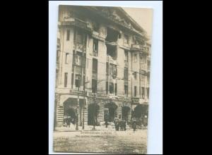 U8111/ Straßenkämpfe in Berlin Revolution Gebäude des Vorwärts Foto AK 1919