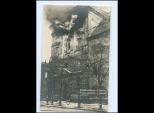 U8112/ Straßenkämpfe in Berlin Revolution Marstall Foto AK 1919