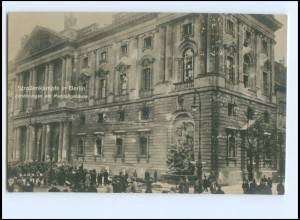 U8113/ Straßenkämpfe in Berlin Revolution Marstall Foto AK 1919