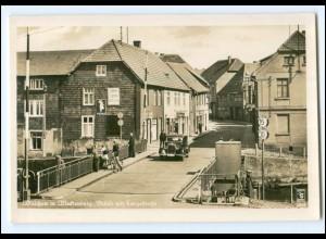XX005430-172/ Malchow Brücke mit Langestraße Auto Foto AK 1942
