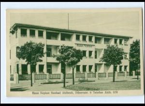 XX005543-174/ Seebad Ahlbeck Haus Neptun AK ca.1920