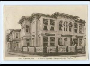 XX005545-174/ Seebad Ahlbeck Hotel Strandterrasse AK 1930