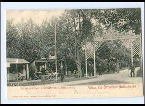 XX005722-239/ Ostseebad Boltenhagen Hotel z.Großherzog v. Mecklenburg AK ca.1900