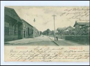 XX005603-239/ Schönberg i.M. Bahnhofstraße AK 1905