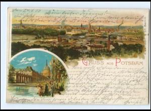 XX005648/ GRuß aus Potsdam Litho AK 1903