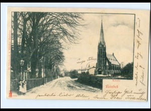 XX005747/ Reinbek Kirche AK 1902