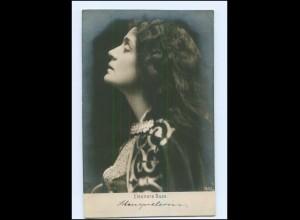Y13449/ Eleonora Duse Schauspielerin aus Italien Foto AK ca.1905