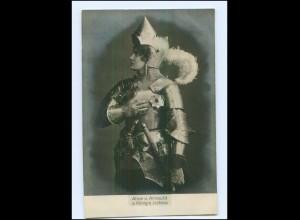 Y13450/ Alice von Arnauld Schauspielerin Foto AK ca.1900