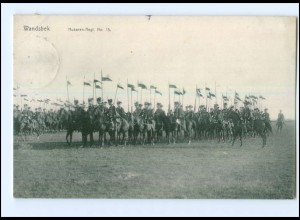 Y134509/ Hamburg Wandsbek Husaren-Regiment No.15 AK 1912