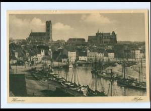 U8272/ Wismar Hafen AK 1936