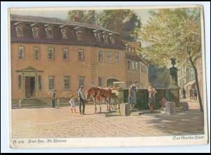Y13473/ Paul Hey Alt-Weimar AK ca.1935