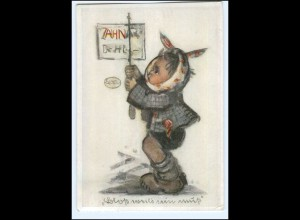 Y13488/ Hummel Kind beim Zahnarzt AK 1941 Verlag: Josef Müller Nr. 5552
