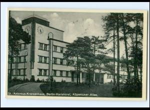 XX006074/ Berlin Karlshorst St. Antonius-Krankenhaus 1937 AK