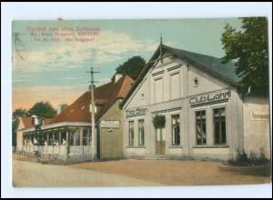 XX005903/ Wentorf bei Reinbek Gasthof zum alten Zollhause AK 1920