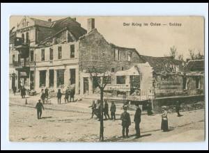 XX006087/ Ostpreußen Der Krieg im Osten Goldap 1920 AK