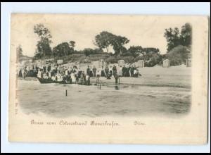 XX005894/ Ostseestrand Bauerhufen Chlopy Pommern AK ca.1900