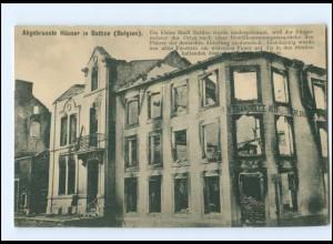 XX005932/ Battice Belgien abgebrannte Häuser ca.1914 AK