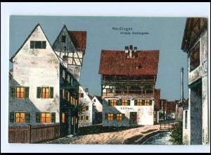 "XX005834-8860/ Nördlingen Künstlerkarte ""Moonlight"" Eugen Felle AK ca.1912"