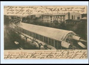 XX006082/ Berlin Hochbahn Möckernbrücke 1902 AK