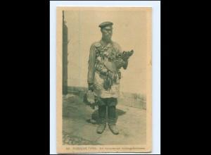 XX006329/ Russische Typen Verkäufer für Vorhänge-Schlössern AK Rußland 1917