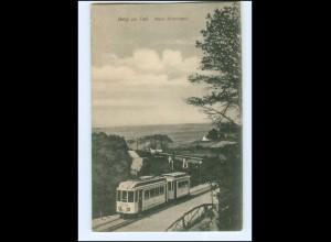 XX005899/ Berg en Dal mooi Nederland Straßenbahn AK ca.1912