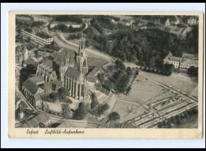 Y13916/ Erfurt Luftbild-Aufnahme AK