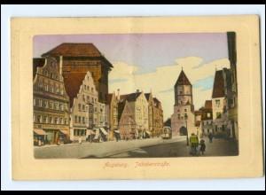 Y13930/ Augsburg Jakoberstraße 1915 AK