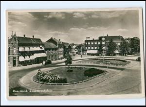 Y13583/ Roermond Zwartbroekplein Niederlande Foto Ak 1957