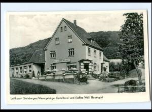 Y13899/ Steinbergen Konditorei Willi Baumgart AK